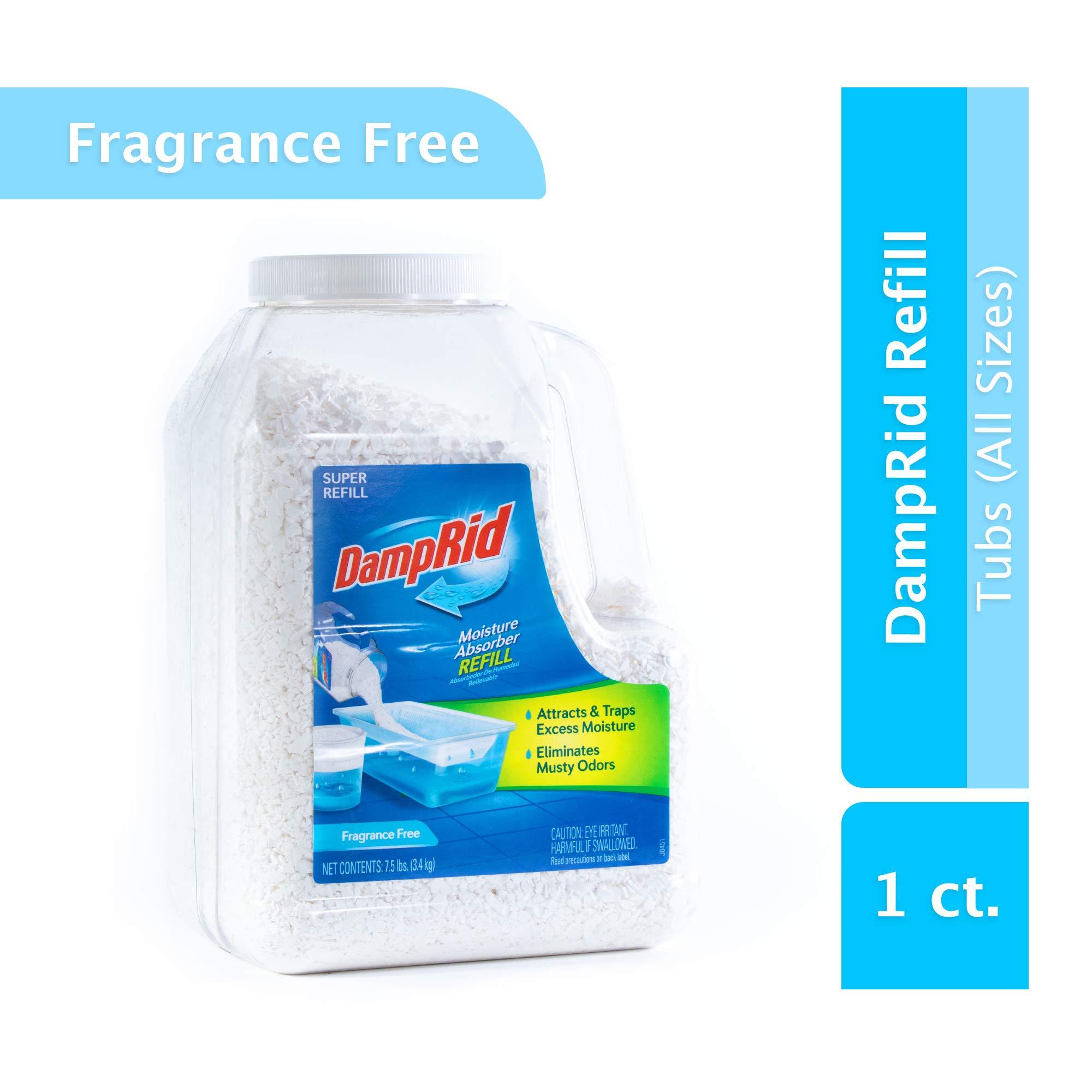 DampRid FG37 Moisture Absorber, 7.5 lb, Fragrance Free by DampRid