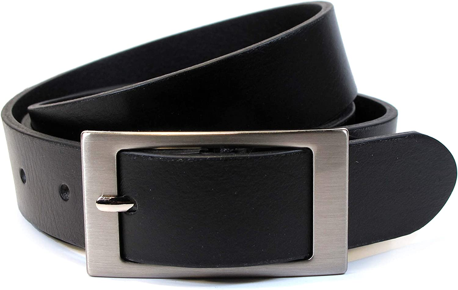 CM8 Mens Real Genuine Leather White Belt 1.5 Wide S-L Thick Long Casual Jeans