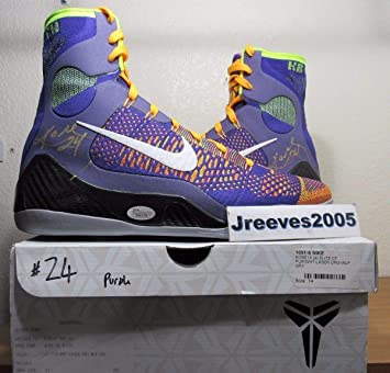 promo code 5bab7 911da Image Unavailable. Image not available for. Color  Dual Autographed Signed  Kobe Bryant ...