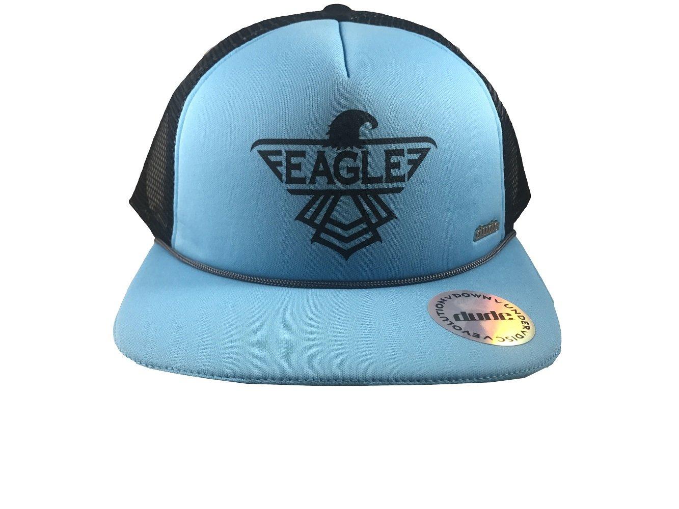 【セール】 Dude Dude Clothing Eagle McMahonイーグルロゴTruckerキャップ調整可能メッシュディスクゴルフ帽子 Blue Light Eagle Blue w/ Black B076H6KKMM, Jewelryメルシィ:252cf08c --- arianechie.dominiotemporario.com