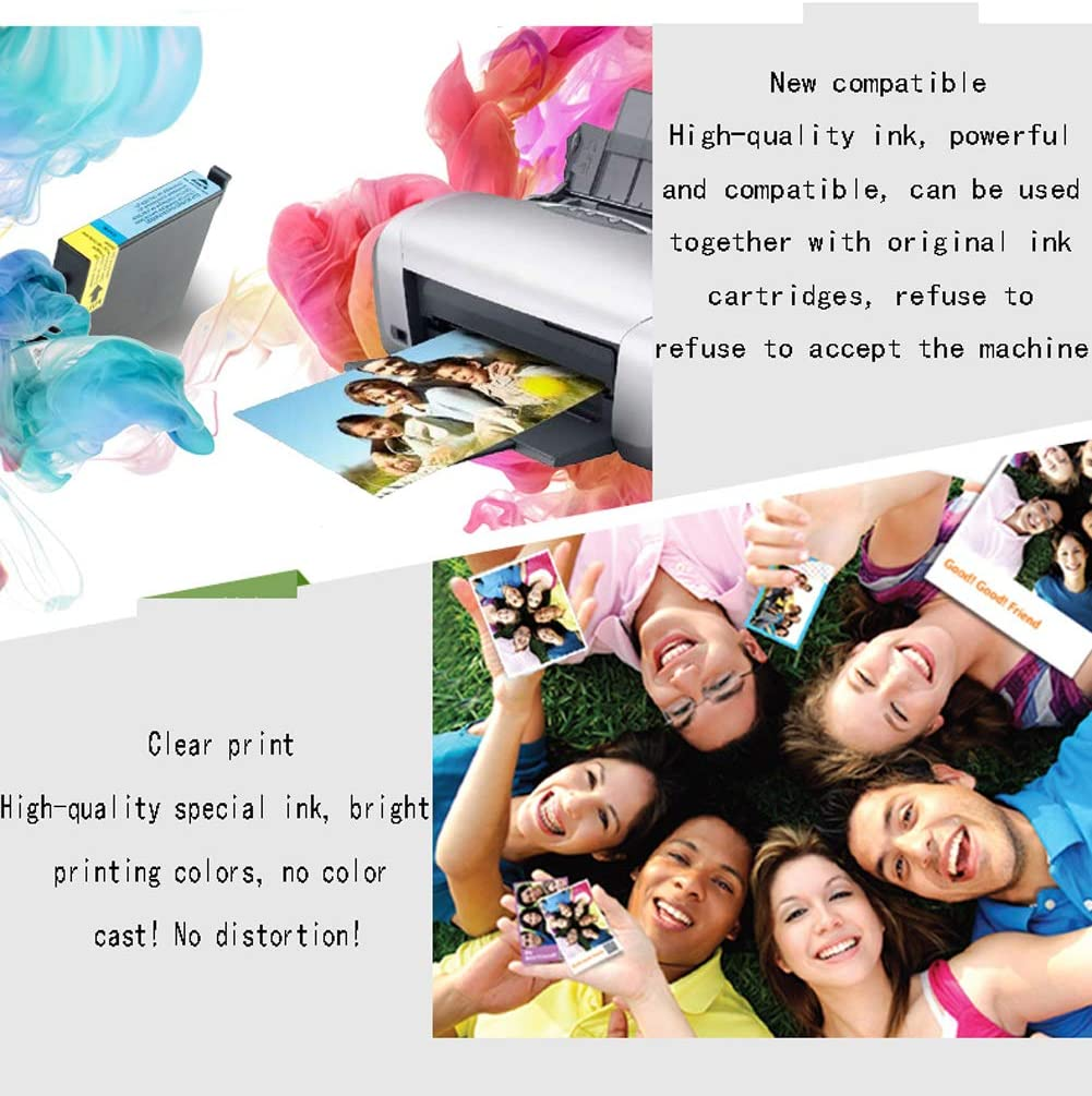 for Canon PG-810XL CL-811XL Color Ink Cartridge for Canon mp258 mp276 mp486 mp496 m245 mx328 mx338 Printer Black Cartridge-Color GYBN Ink Color Large Capacity Ink Cartridge Color