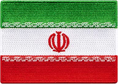 Iran Embroidered Patch