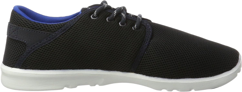 Etnies Herren Scout Sneaker, Schwarz/Erika Blau Navy Blue White