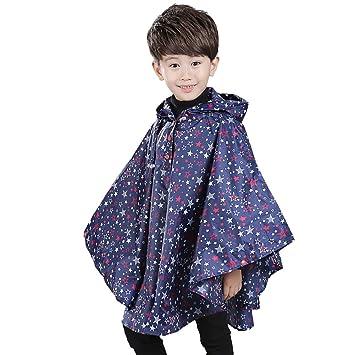 détaillant en ligne f6af6 060f7 Poncho Pluie Enfant Veste Imperméable Enfant Cape de Pluie ...
