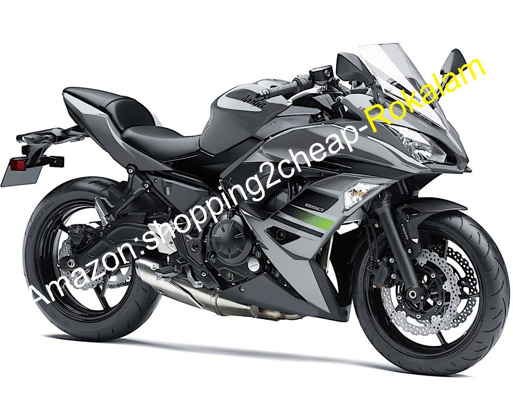 Amazon.com: Body Fairing Kit For Kawasaki Ninja 650R ER 6F ...
