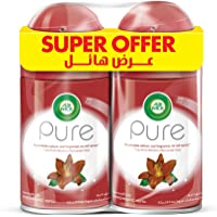 Air Wick Air Freshener Freshmatic Refill Pure Smooth Lilly, 250ml Twin Pack