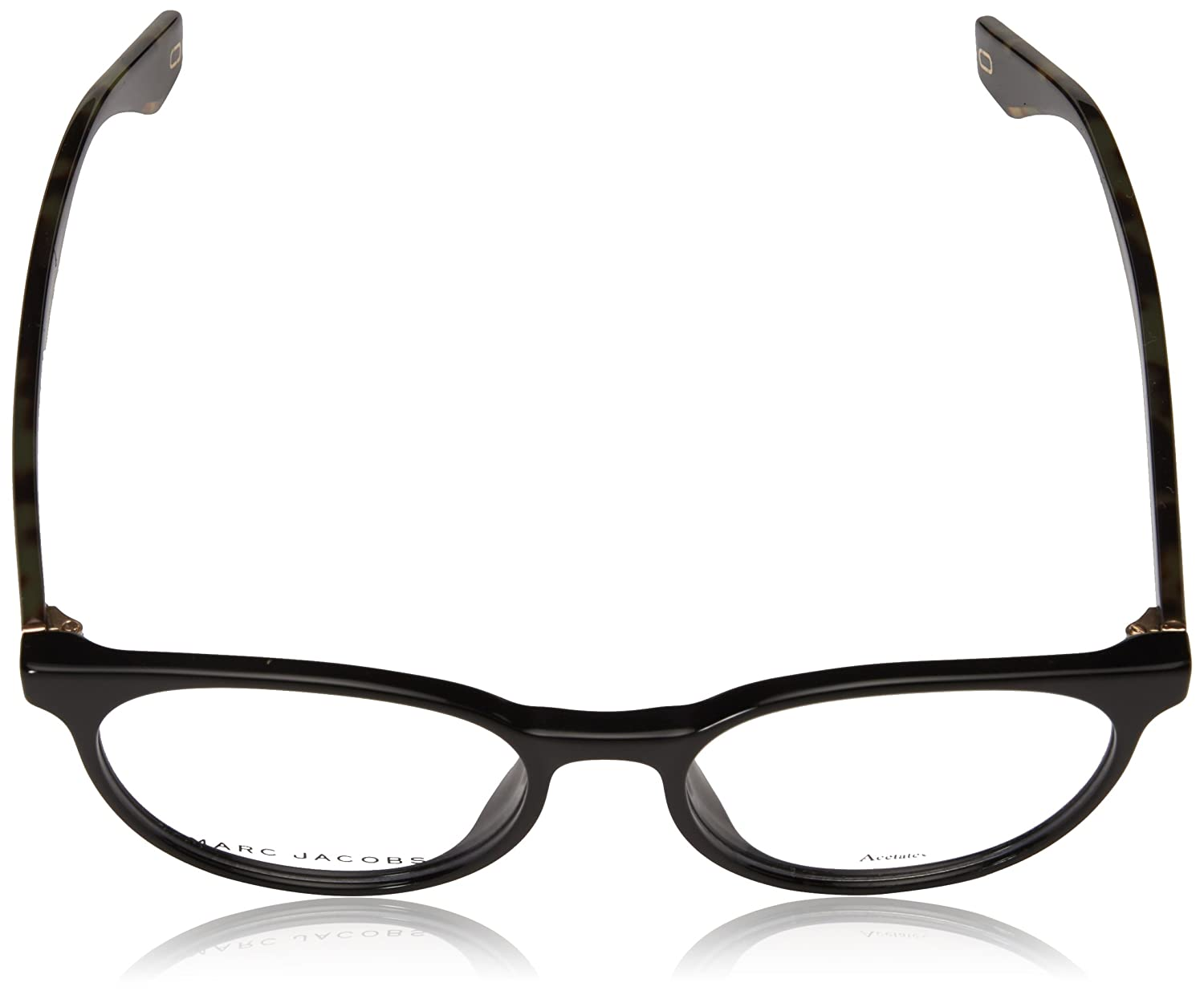 77d19eee19 Amazon.com  Marc Jacobs frame (MARC-283 807) Acetate Shiny Black - Marble  Brown  Clothing