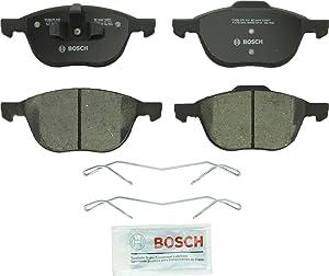 Bosch BC1044 QuietCast Premium Ceramic Disc Brake Pad Set For: Ford C-Max, Escape, EcoSport, Focus; Mazda 3, 3 Sport, 5; Volvo C30, C70, S40, V40 Cross Country, V50, Front