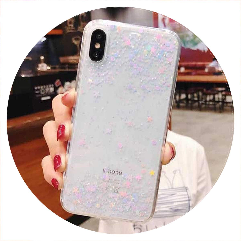 Luxury Glitter Powder Phone Case For iPhone X XR XS Max 8 7 Plus 6 6S Plus