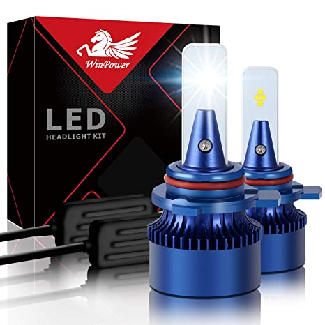Win Power HIR2 / 9012 Led Faro Bulbo Kit de repuesto 6000K Xenón Blanco Super brillante