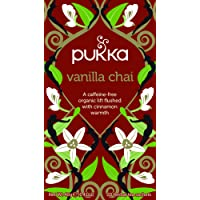 Pukka Vanilla Chai Herbal Tea Bags, 20 Count, 2 Grams