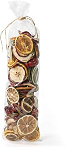 ANDALUCA Natural Vase Fillers for Autumn, Thanksgiving & Holidays| Home Decor (Fruit Slices)