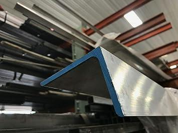 "Alloy 6061 Aluminum Angle 3/"" x 4/"" x .250/"" x 48/"""