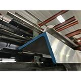 6061 T651 Aluminum Angle 3'X 5'X 12' Long 1/4' Thick
