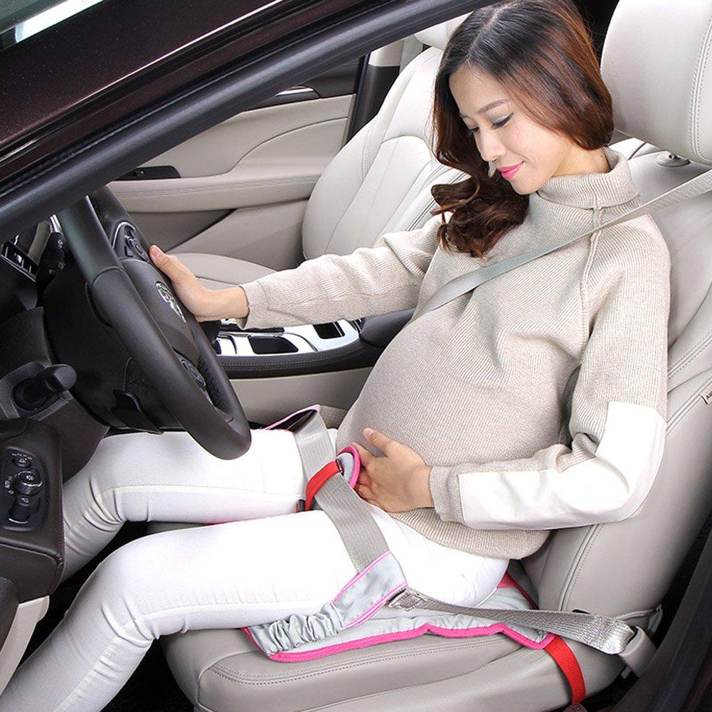 Bouclier Ceinture de sécurité grossesse/maternité, Grossesse Ceinture de ceinture ceinture antidérapant Siège auto pour enceintes (rosarot) hzsddsm123-321