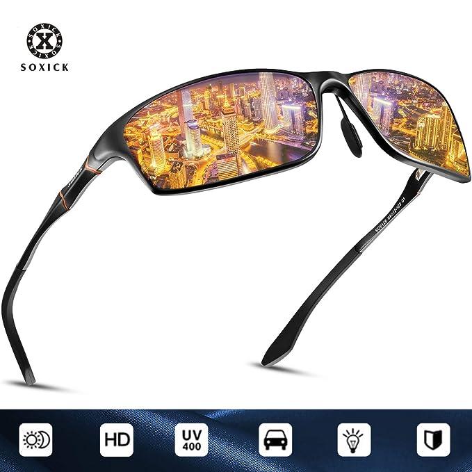 85eceec8260 Amazon.com  SOXICK Night Driving Glasses