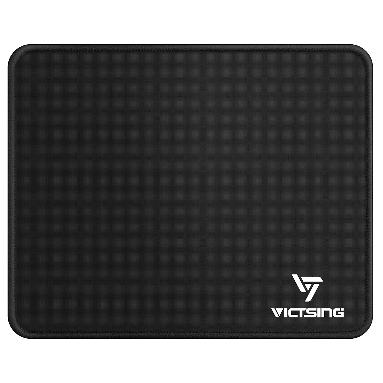 VicTsing Gaming Mouse Pad Mat Large Size (800 x 400 x 2.5mm) Extended Keyboard Pad Water-Resistant with Non-Slip Rubber Base, Special-Textured Smooth Surface, Durable Stitched Edges - Black CAAS1-YPVTPC123AB