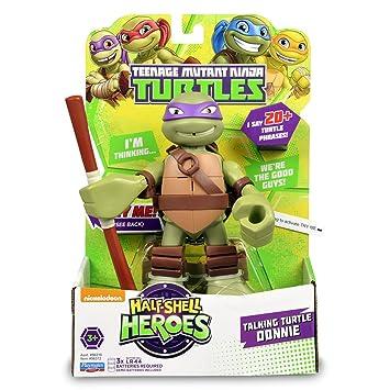 Tortugas Ninja HSH - Figura con Sonidos, 15 cm (Surtidos ...