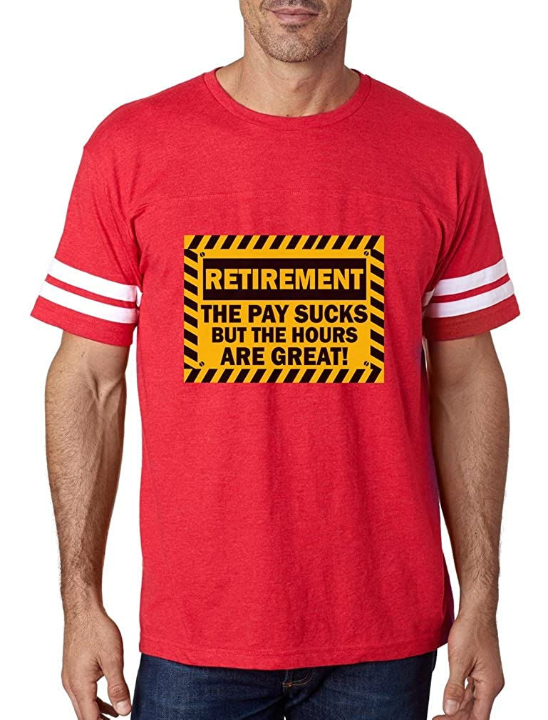 Amazon.com  TeeStars - Funny Retirement Gift Idea - Retired Football Jersey  T-Shirt  Clothing 84a486d2d