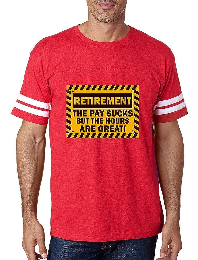 Amazon.com  TeeStars - Funny Retirement Gift Idea - Retired Football Jersey  T-Shirt  Clothing 0b069826b