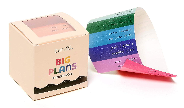 Ban.do - Juego de pegatinas de arcoíris | planificador y ...