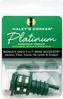 product image for Haleys Corker Platinum Screw Top, Green (HALEYPG36)
