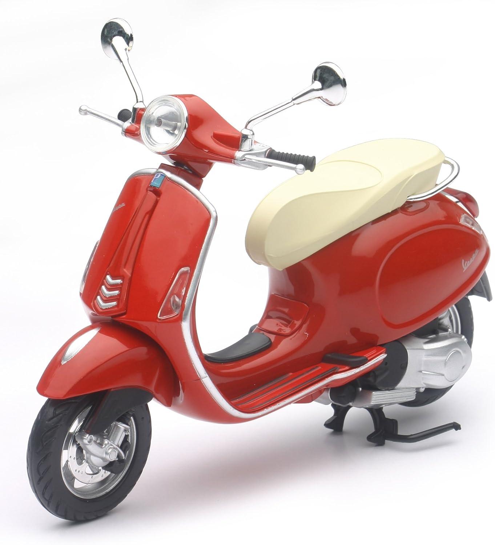 Vespa Primavera rot Maßstab 1:12 Modell von NewRay