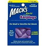 Mack's Slim Fit Soft Foam Earplugs 5 Pairs