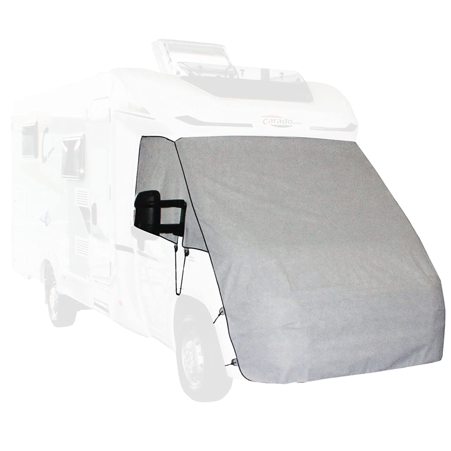 Rubber Straps Nose Protection Front Tarpaulin Panel Van Sprinter 07- Protecting from Frost and Snow
