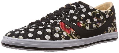 Desigual SHOES LILI - zapatilla deportiva de material sintético mujer, color negro, talla 37: Amazon.es: Zapatos y complementos