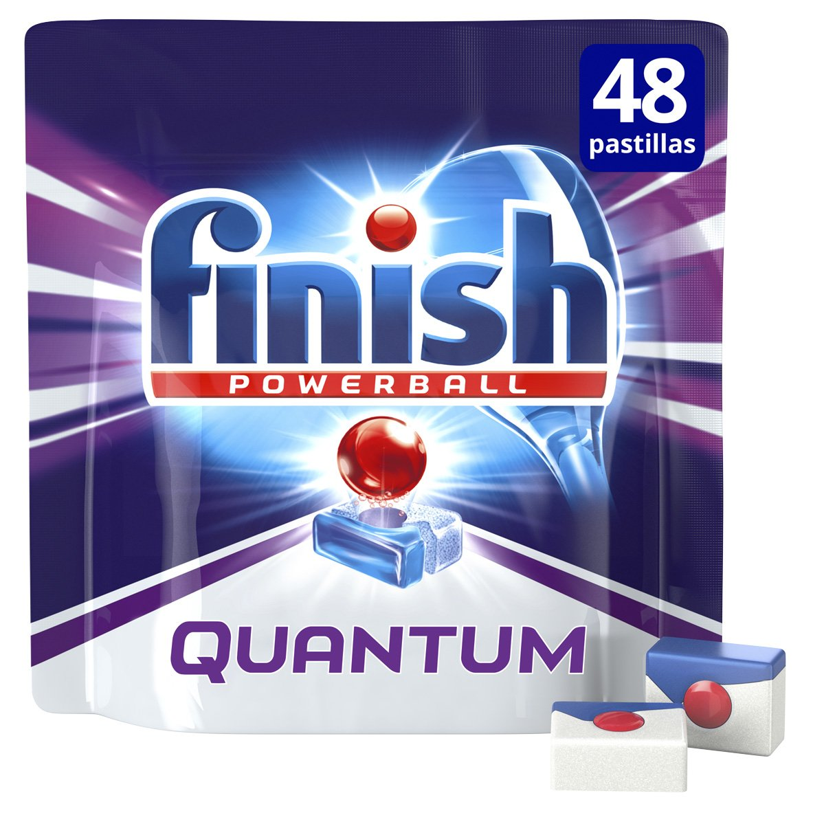Finish Quantum Lavavajillas Pastillas Regular - 48 pastillas ...