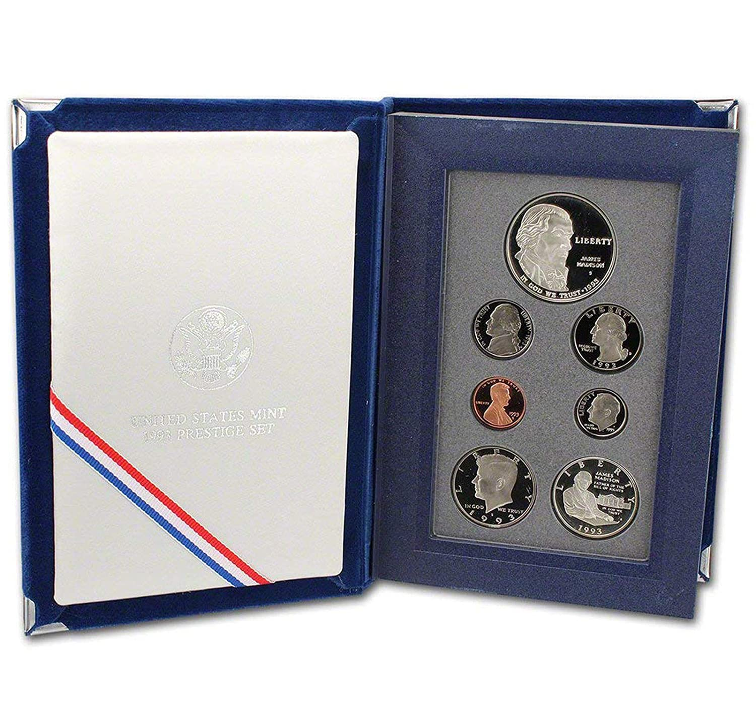1993 Bill of Rights Prestige Proof Coin Set United States Mint
