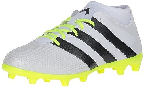 buy popular 3a3c1 b5c50 adidas Womens Ace 16.3 Primemesh FGAG Soccer Shoes, Footwear WhiteCore  Black