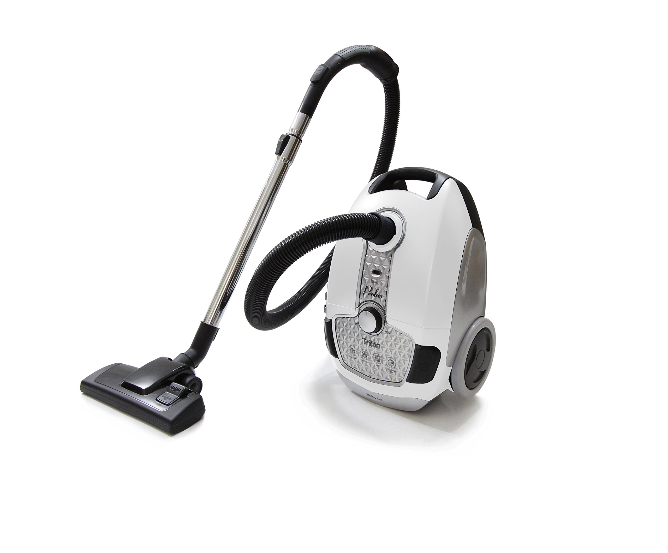 Prolux Tritan Canister Vacuum HEPA Sealed Hard Floor Vacuum With Powerful 12 Amp Motor by Prolux