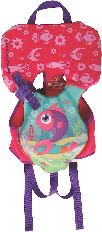 Stearns Infant Puddle Jumper Hydroprene Fish Print Life Jacket