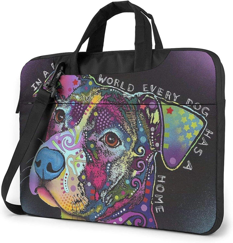 Laptop Bag, Cute Tiger Cub 15.6 Inch Laptop Shoulder Bag Briefcase Office Bag For Men Women