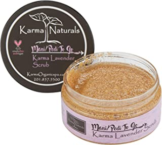 product image for Karma Organic Natural Lavender Scrub -Stress Relief, Moisturizer for Young and Dry Skin