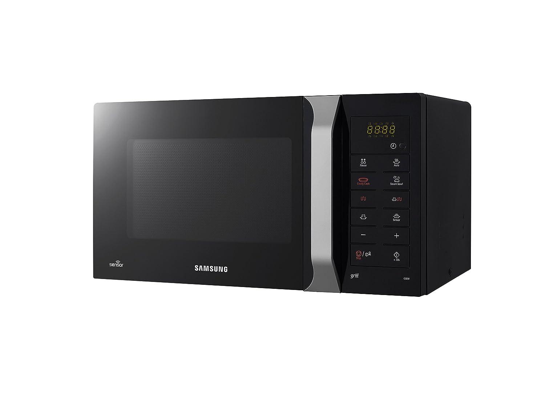 Samsung GS89F-1SP/XEG - Microondas (23 litros, 1100 W), color negro (importado de Alemania): Amazon.es: Hogar