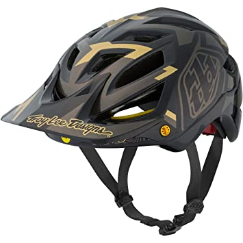Troy Lee Designs Vertigo Adult A1 Bike Sports BMX Helmet - Black / X-Large