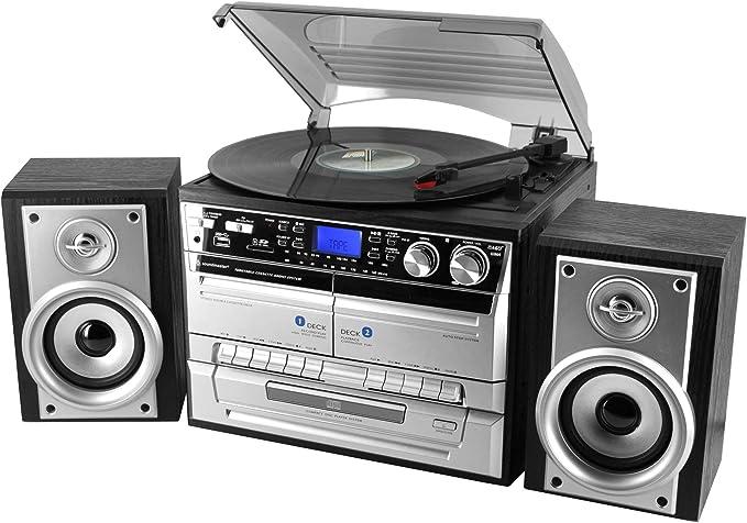 Soundmaster MCD4500 - Tocadiscos: Amazon.es: Electrónica