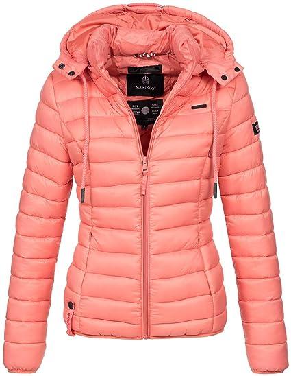 Damen Steppjacke Jacke Frühling Herbst extrem leicht Qualität Grau Kaputze Gr 40