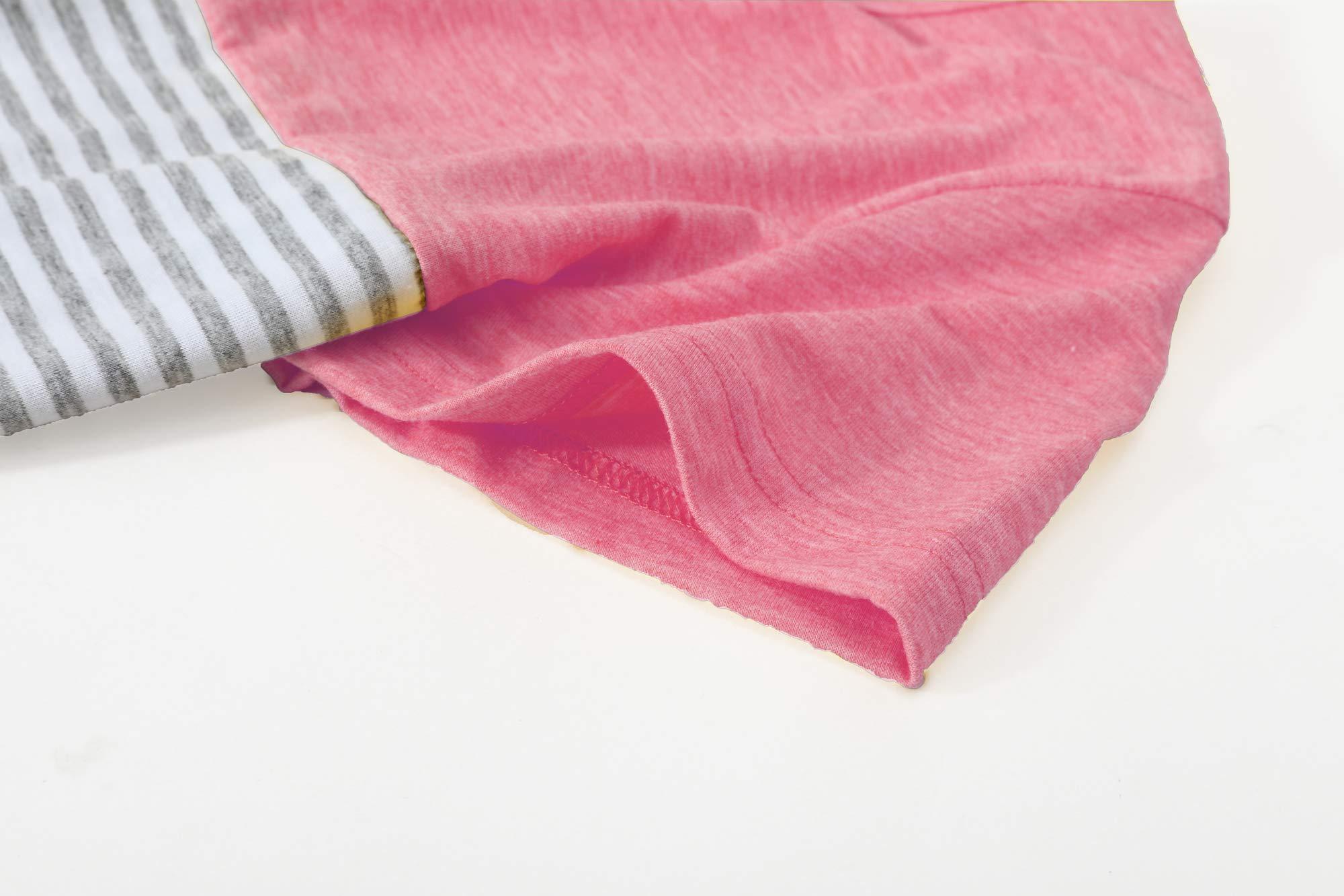 Gititlys Women Summer Short Sleeve Tops Blouse T Shirt XXL Red