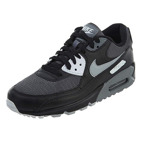 buy online aaae9 7275c Image Unavailable. Nike Men s Air Max 90 Essential, BLACK WOLF GREY DARK ...