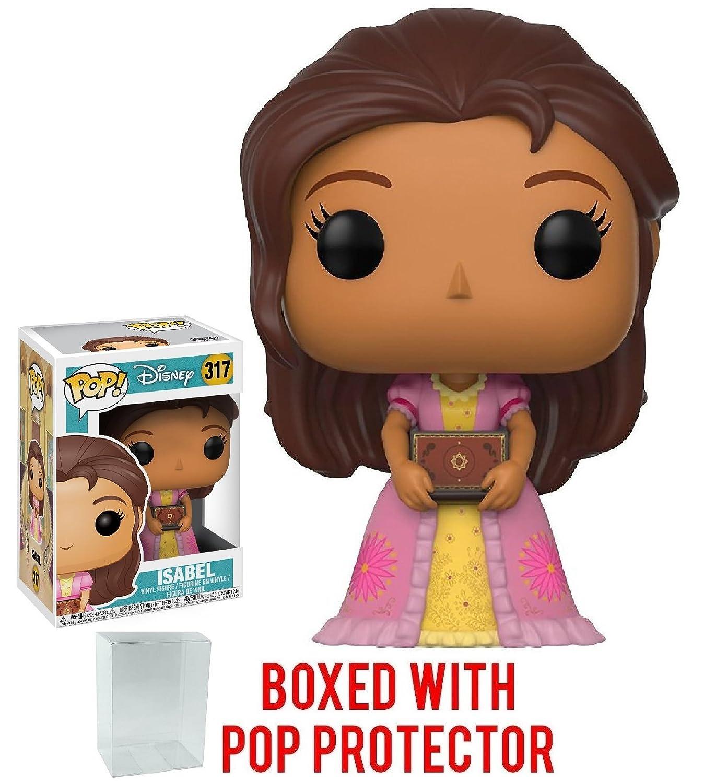 Disney: Elena of Avalor Bundled with Pop BOX PROTECTOR CASE Funko Pop Isabel Vinyl Figure