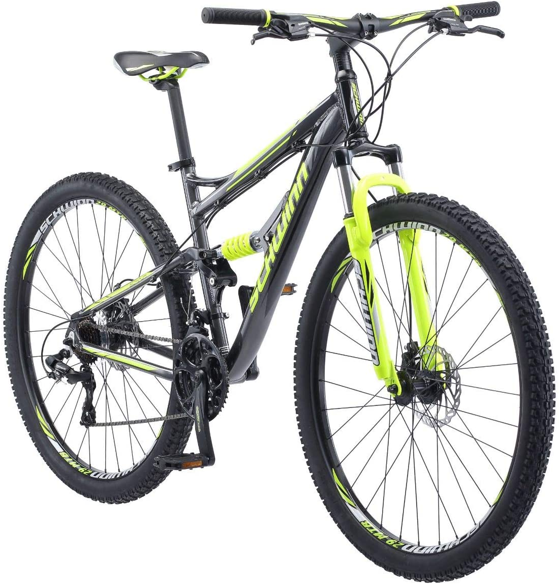 best full suspension mountain bike under 2000: Schwinn Traxion Mountain Bike