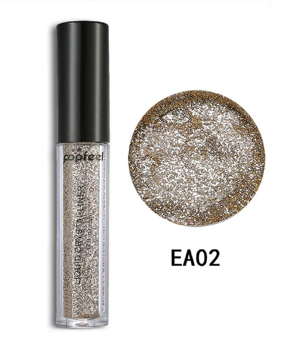 Born Beauty Glitter Eyeshadow Palette Pearl Diamond Eye Make Up Pigments Powder (EA02)