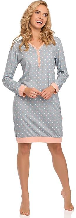 Cornette Premamá Lactancia Camisones Camisón Pijamas Vestido de Dormir 654 2015: Amazon.es: Ropa y accesorios