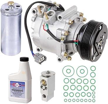 Amazon.com: AC Compressor & A/C Kit For Honda Civic 1.7L 2002 2003 2004  2005 w/ 3-Wire Connector - BuyAutoParts 60-80229RK New: AutomotiveAmazon.com