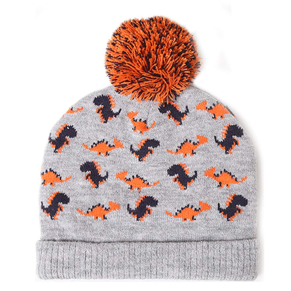 80542f96e493e4 Exemaba Baby Boys Winter Knit Hat - Infant Soft Warm Knitted Beanie Cap  Cute Fall Toddler