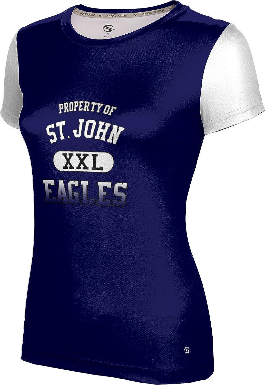 ProSphere Women's St. John High School Crisscross Tech Tee